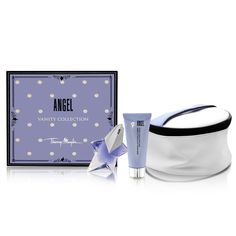 Angel by Thierry Mugler for Women 3 Piece Set Includes  oz Eau de Parfum  Spray oz Perfuming Body Lotion Travel Pouch    Check this awesome image    Travel ... cea4a8049a