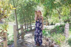 Spring Fashion Blog -Pink Blush #blog #maxi #dress