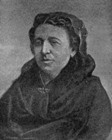 Éléonore-Justine (Nina) Bonaparte, nee Ruffin, Pierre Bonaparte's wife.