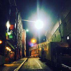 """March 31, 2016 (Thursday) DAGSLYS / facebook (light equipment supplier) """"57 shooting days; It's a wrap!!! #thesnowman"""" — at Brenneriveien. https://www.facebook.com/dagslys/photos/a.10151522685599172.1073741826.273786894171/10154123665154172/?type=3&theater"""