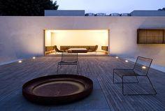 Chimney House by Marcio Kogan, Delood