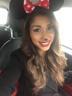 Minnie Mouse makeup costume ComicCon 2015