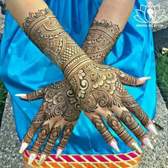 """Hello everyone! I finally had the time to draw a little something on me. I needed some henna…"" Modern Mehndi Designs, Mehndi Design Pictures, Unique Mehndi Designs, Wedding Mehndi Designs, Dulhan Mehndi Designs, Beautiful Mehndi Design, Wedding Henna, Mehndi Images, Mehendi"