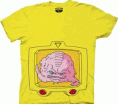 TMNT Yellow Krang Shirt #TMNTGiveaway Perfect shirt to wear while pregnant!! Need this for my baby shower!!