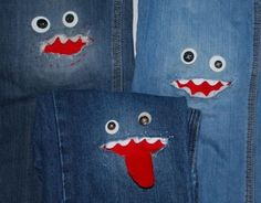 patches for jeans   monster patches for jeans   sEw CuTe
