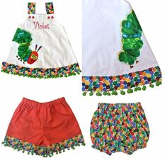 Hungry Little Caterpillar Baby Clothes