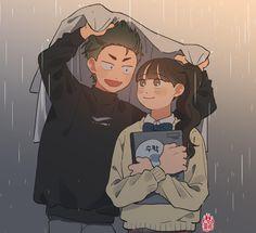 Cute Illustration, Character Illustration, Pretty Art, Cute Art, Cartoon Drawings, Cute Drawings, Character Art, Character Design, Korean Art