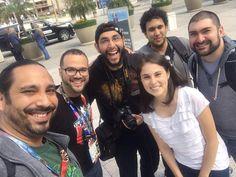 Con el equipo de @ignlatam desde el #e32016. Gran #shoutout a los muchachos a quien le colaboramos con notas de eventos en #PuertoRico #LatinosEnE3 #BoricuasEnE3