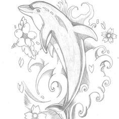 Cute dolphin design