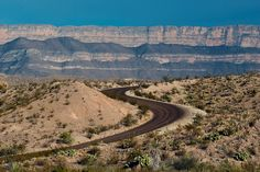 Big Bend road #texastrails #texaslandscapes #bigbend #highways #TandemLogistics