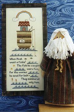 Noah Went A Fishin' Booklet
