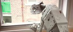 AT-AT day afternoon by Patrick Boivin. When I was a kid, there are two things I wanted badly and never got... A real dog and a Kenner AT-AT Walker.