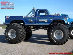 Bigfoot my #1 truck wish was mine :)
