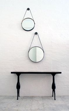 Throw Your Room a Curve: Round Mirrors