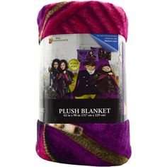"Descendants Kids Blanket Mal , Ben ""Welcome To Auradon"" 62"" x 90 Plush Blanket #Blanket"