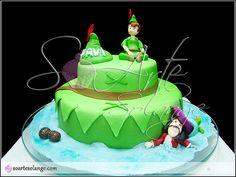 Bolo Decorado - Peter Pan | soartesolange.com .. Contato: so… | Flickr