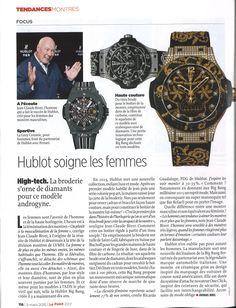 Le Point - 5 Mars 2015 - Hublot