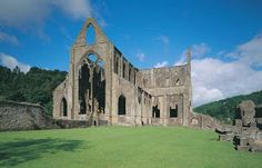 Reformed Anglicans: October 1131-1536 A.D.  Tintern Abbey, Southern Wa...