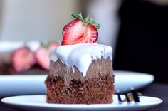A healthier chocolate cake... too good to be true? I'll have to try it to find out! This blog has GREAT recipes!