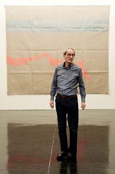 Giorgio Griffa Portrait http://copenhagen-contemporary.dk/giorgio-griffa/