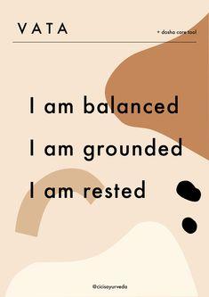Ayurvedic Body Type, Ayurvedic Healing, Holistic Healing, Chakra Healing, Ayurveda Dosha, Healing Quotes, Emotional Healing, Yoga, Stress Relief