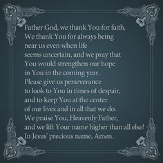 Thank Heavenly Father...