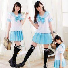 Uniforme colegial (Seifuku) - Azul