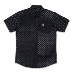 Promo Button Up in Black