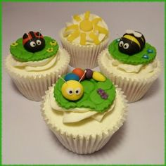 Little Bug Cupcakes