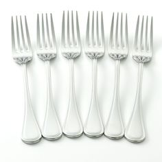 Oneida Infuse 6-pc. Dinner Fork Set, Multicolor