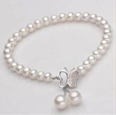 pulsera de perla http://www.beads.us/es/producto/Pulseras-de-Perlas-Freshwater_p152867.html?Utm_rid=163955