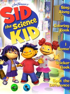 Sid the Science Kid takes the best of book apps and the best of educational games, melds them into a fun and useful tool for preschoolers. #ScienceApps #kidsapps