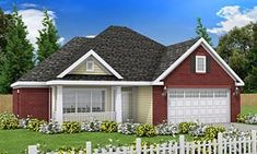 Traditional House Plan 68508 Elevation