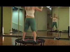 ▶ Tracy Anderson Rebounder Workout - YouTube This is what I do (to my own music!) when I don't do her dance cardio. Love it.