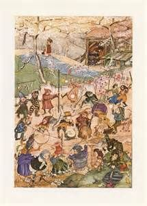 Shop Old tapestry from Toledo Binder created by splaces. Walter Crane, Christmas Tale, Flower Mound, Book Wall, Princess Elizabeth, Fairytale Art, Children's Literature, Book Gifts, Decorative Pillows