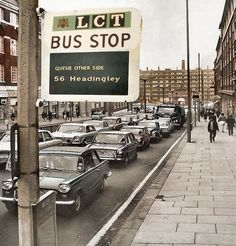 1970s Looks, Leeds City, Bus Stop, My Town, Cold War, Old Photos, Yorkshire, 1980s, England