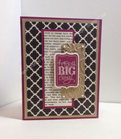 Stampin' Fun with Diana: Fab Friday Sketch Challenge: Chalk Talk Birthday Greetings