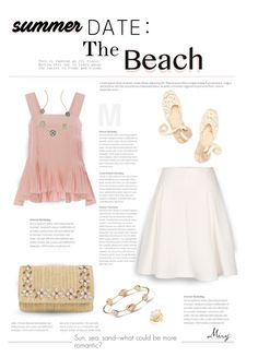"""Summer Date: The Beach"" by thewondersoffashion ❤ liked on Polyvore featuring Soludos, TIBI, Glint and Ippolita"