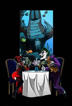 Harley Quinn + Joker = LOVE!