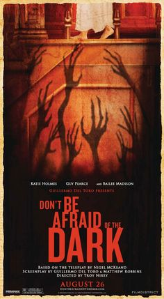 Don't be Afraid of the Dark horror movie poster