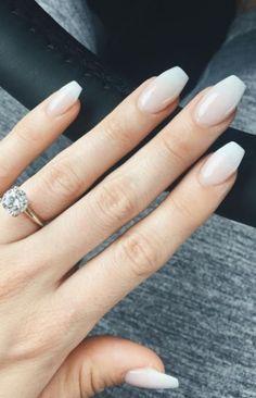17 Beautiful Wedding Nail Designs #wedding #weddingnail #whitenail #nail #nails #nailart