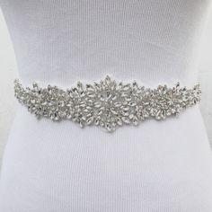 Bridal Sash Bridal Belt Wedding Sash Bridesmaid Belt by SassyRhine