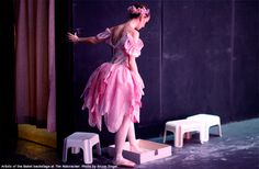 In the Wings: An Artist of The National Ballet of Canada applying rosin before going onstage for The Nutcracker.
