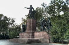 Lajos Kossuth statue group - Lajos Kossuth was a great Hungarian politician - Budapest, Hungary