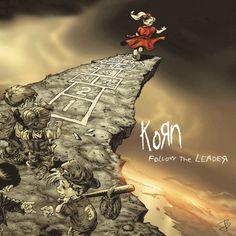 KORN - Follow the Leader (1998) - animated album cover art by jbetcom. #gif