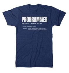 T-Shirt programmer humor, game programmer, computer humor, computer science Computer Humor, Computer Science, Computer Engineering, Programmer Humor, Game Programmer, Funny Prints, T Shirts With Sayings, Funny Tees, Tshirts Online