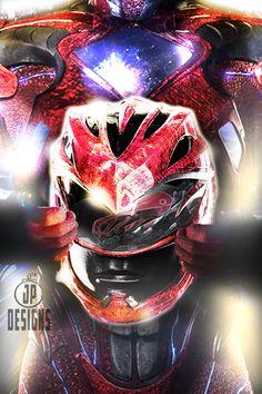 Red Ranger Cover by onemindedgeek on DeviantArt Power Rangers Movie 2017, Power Rangers Helmet, Power Rangers Fan Art, Overwatch Wallpapers, Superhero Villains, Mighty Morphin Power Rangers, Marvel, Disney Films, Hero Arts