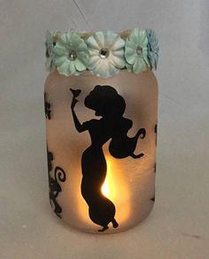 Jasmine Jar Lantern  Alladin Luminaire  Flameless Votive