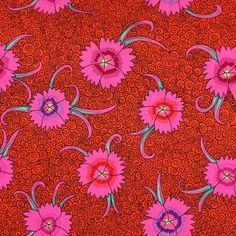 ROWAN - Dianthus 5 - Algodón - rojo signal