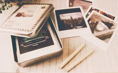 Photo storage idea #storage Would love this if/when I actually make and try out a pinhole camera!